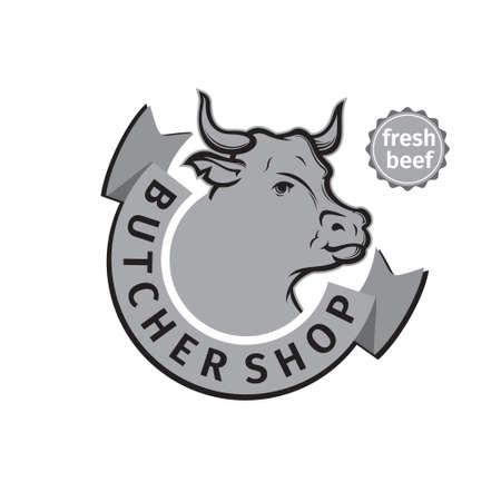 label of butcher shop
