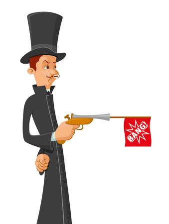 nobleman: L'uomo in cappello a cilindro con la pistola duello