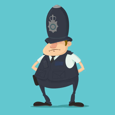 British police officer