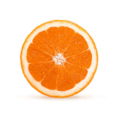 Image with  orange isolated on white background Stok Fotoğraf