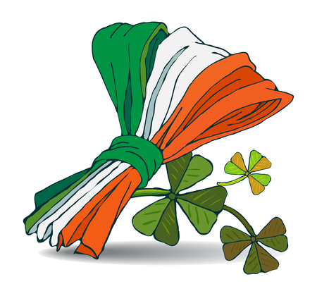 Patrick. Irish holiday. vector illustration.