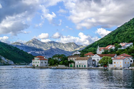 Lepetani,Tivat,Montenegro Stock Photo