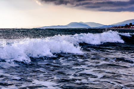 nudist: Beach on Ada Bojana, Montenegro