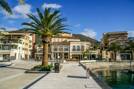 Marina, Porto Montenegro. Tivat, Montenegro