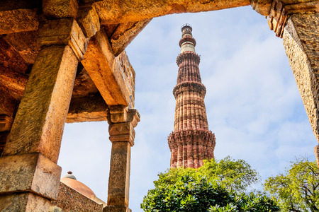 Qutub Minar Tower, Delhi India