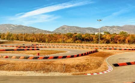 kart: Go- Kart car  playground racing track