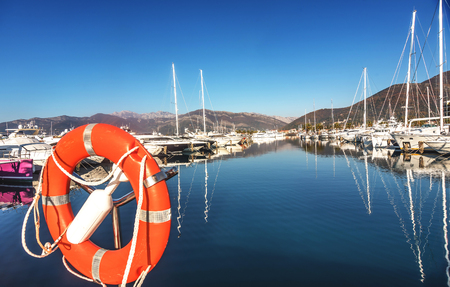 montenegro: Porto Montenegro in Tivat city, Montenegro