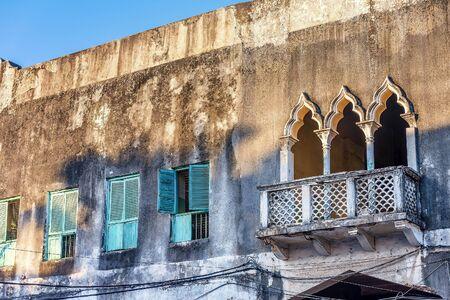 tanzania: Tipical  Houses in Stone Town, Zanzibar,Tanzania