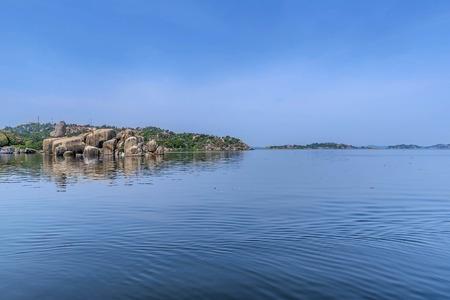 Rocks on the shore of Lake Victoria, Tanzania