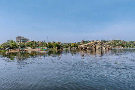 mwanza: Rocks on the shore of Mwanza Lake Victoria, Tanzania Stock Photo