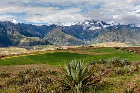 Sacred Valley. Cusco Region, Urubamba Province, Peru Stock Photo