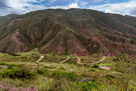 Sacred Valley. Cusco Region, Urubamba Province, Peru Stock Photo