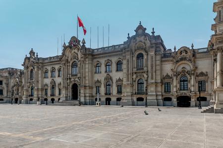Lima, Peru- March 12, 2017: Lima Palace, Peru Editorial