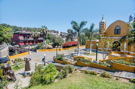 リマ、ペルー-2017 年 3 月 13 日: 植民地教会イグレシア エルミタ、ペルー、リマのバランコ地区の