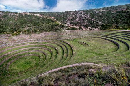 stereotypically: Inca Agricultural research station, Moray, Peru