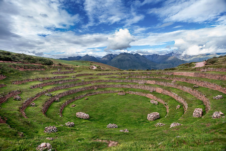 Inca Agricultural research station, Moray, Peru