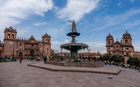 쿠스코, 페루 -2017 년 3 월 16 일 : 페루 쿠스코, 플라자 드 알 마스