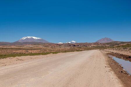 avaroa: Atacama desert at Salar de Uyuni, Bolivia