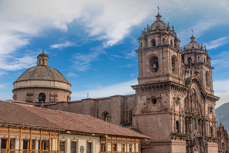 La Compania de Jesus ( Company of Jesus ) Church in Cusco, Peru Editorial