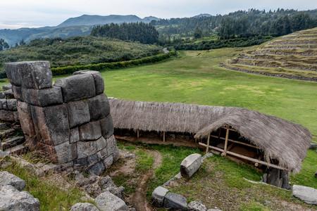 쿠스코, 페루 15 세기에서 Saksaywaman 잉카 요새의 유산 사이트 에디토리얼