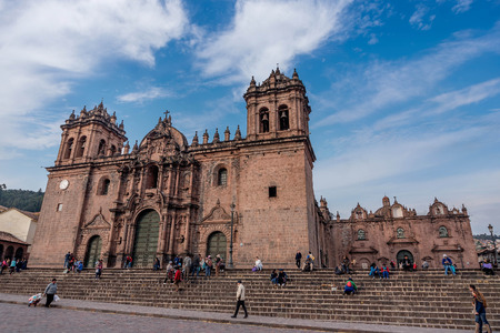 Cusco Cathedral ( Nuestra Sra. de la Asuncion ), Peru Editorial