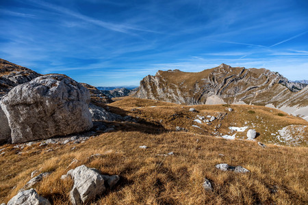 Mountains in National Park Durmitor, Montenegro