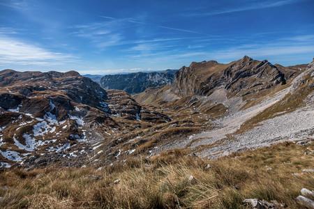 Mountains in National Park Durmitor, Montenegro