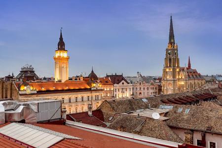 Roman Catholic Cathedral in Novi Sad, Serbia