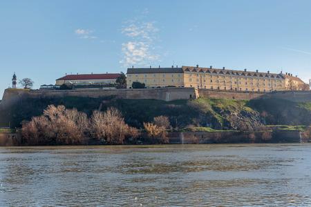 ノヴィ・サドのペトロバラディン要塞(セルビア) 写真素材