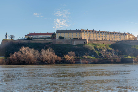 Petrovaradin Fortress in Novi Sad, Serbia