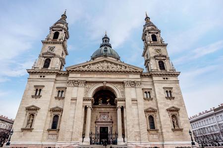 Budapest, Hungary- January 9, 2018: Saint Stephen Basilica, largest church in Budapest, Hungary