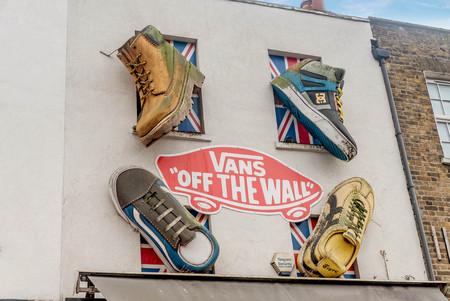 London, UK- January 11, 2018:Art on the building walls  in Camden, London