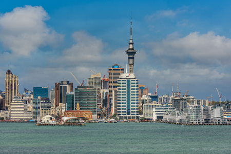 Beautiful cityscape of Auckland, New Zealand