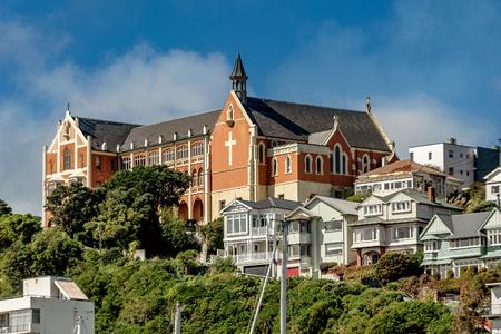 Wellington, New Zealand- March 28, 2018: St. Gerard Monastery in Wellington, New Zealand Editorial