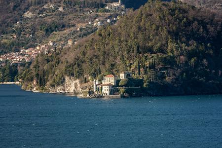 Beautiful villa near Bellagio on the lake Como, Italy