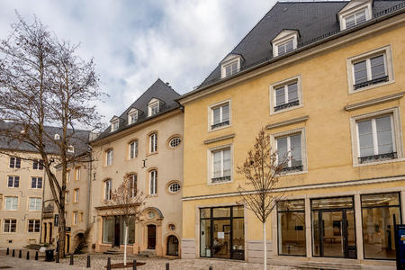 Buildings in the capital city of Luxembourge,Luxembourge