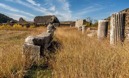 Archeological site of Roman and Byzantine city called Duklja near Podgorica, Montenegro