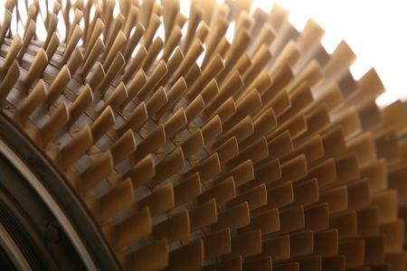 gas turbine: turbine blades