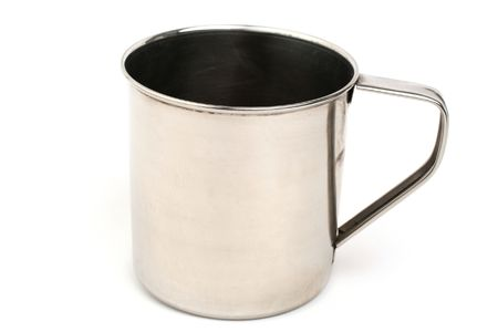metal cup Stock Photo