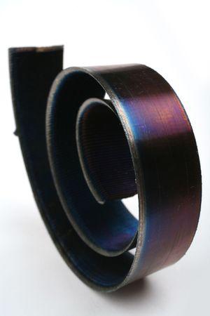 Metal shavings Stock Photo - 6061371