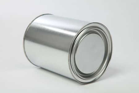 metal (tin) of the bank on a white background