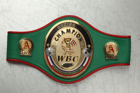World Belt Boxing champion WBC. Asian boxing counsil.