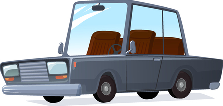 Cartoon car illustration.