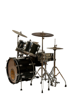 drum set musical instrument icon image