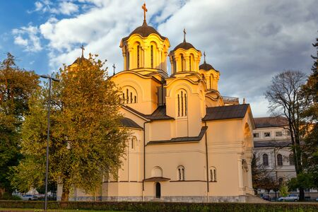 Sts Cyril and Methodius Church - an Eastern Orthodox church building located in Ljubljana, Slovenia