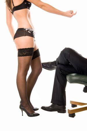 snazzy: Snazzy woman invites businessman
