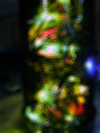 festoon: blurred festoon lights