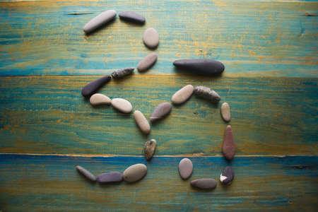 aum: sign AUM of stones