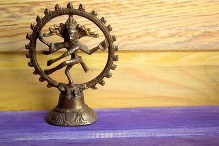 nataraja: statuette of a dancing God Shiva Nataraja Stock Photo