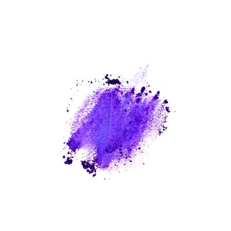 texture ultra purple eyeshadow is an example of color of the year 2018 Pantone in cosmetics